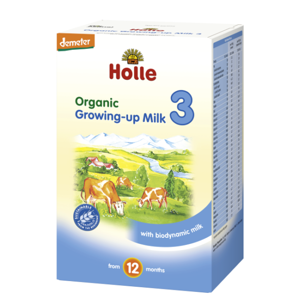 Holle Organic Baby Formula Stage 3 with biodynamik milk
