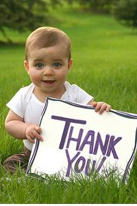 Thank You - Beyond Organic Baby