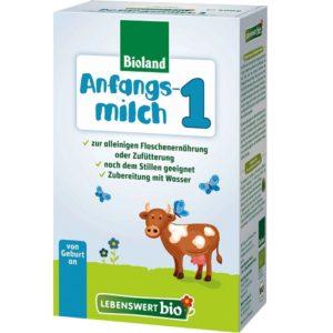 Lebenswert Organic Baby Formula Stage 1