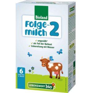 Lebenswert Organic Baby Formula Stage 2