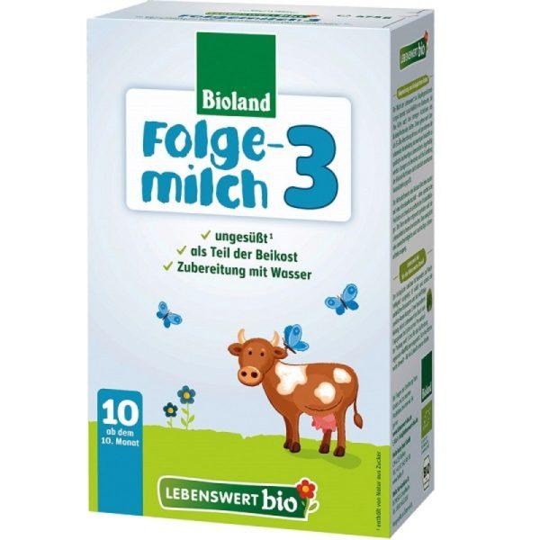 Lebenswert Organic Baby Formula Stage 3